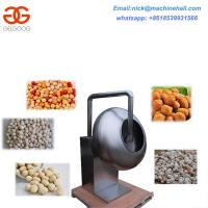 China Nuts Coating Machine for Sale Peanut Coating Equipment High Efficiency Coating Machine Price on sale