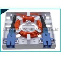 Quality CATV Network Fiber Optic Distribution Panel SC Outdoor Terminal Box 750N Shock Resistance for sale