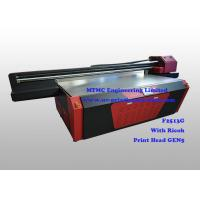 Quality Ricoh GEN5 Head UV Industrial Printing Equipment For Package / Fridge for sale