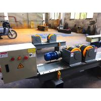 Quality 40T Conventional Tank Turning Rolls , Bolt Adjustment Pipe Welding Rollers for sale