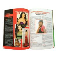 Buy Fashion Clothes Trend Commercial Magazine Printing For Advertising Publicity at wholesale prices