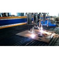Quality 5KW CNC Flame Plasma Cutting Machine , Gantry CNC Cutting Machine Easy Quick Operation for sale