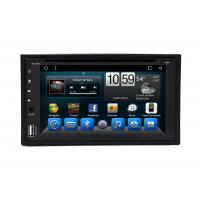 Quality Universal 6.2 Double Din Stereo Radio Android Car Navigation Multimedia Player for sale