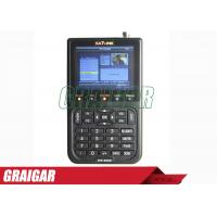 Buy WS -6908 3.5 Inch DVB - S FTA Satellite Signal Meter 950mhz - 2150mhz at wholesale prices