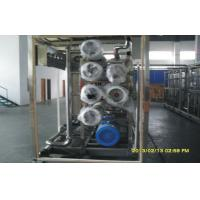 Buy Single Stage Reverse Osmosis Seawater Desalination Equipment With Water at wholesale prices
