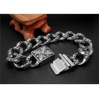Quality Shopping Gift Stainless Steel Bangle Bracelets With Square Buckle Charm Bracelets for sale