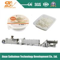 Frequency Speed Nutritional Rice Making Machine Plant Self - Cleaning Function