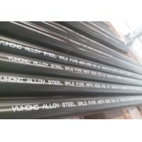 Quality Alloy Steel Seamless Pipe ASTM A335 P22/P11/P9/P91 WITH Black or Varnish Coating Bevelled End for sale
