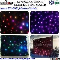 Quality LED RGB fullcolor star curtain for sale