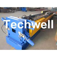 """Quality 3"""" * 4"""" Rectangular Rainspout Roll Forming Machine for Rainwater Downpipe, Water Pipe for sale"""