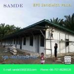 Quality Prefab concrete houses heat resistant cement sandwich wall panel/ board for sale