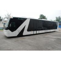 Buy Apron Passenger Low Floor Buses Airport Bus With Aluminum Body at wholesale prices