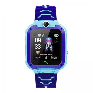 """Quality SOS One Key Calling 400mAh 1.44"""" Kids Touch Screen Smartwatch for sale"""