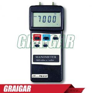 Quality Lutron PM -9107 Digital Manometer 7000 Mbar Maximum Range PM9107 for sale