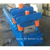Quality Roof Ridge Cap Cold Roll Forming Machine PLC Control with Hydraulic Cutting for sale