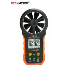 Backlight Digital Display Digital Wind Meter , Wind Measuring Device USB Port for sale