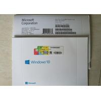 Quality MS Genuine License Win 10 pro OEM Sticker Online Activation 64 Bit  French Version for sale