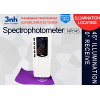 Quality 3nh 45°/ 0°Color Matching Spectrophotometer NR145 , packaging printing colour difference meter for sale
