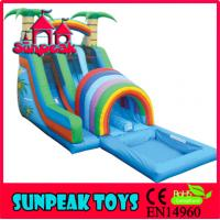 China WL-001B Backyard Commercial Inflatable Water Slide For Sale on sale
