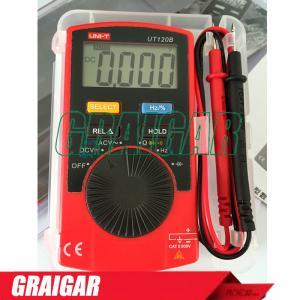 Quality Pocket Digital Multimeter UT120B / Super Slim Handheld Mini Voltmeter Digital for sale