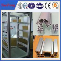 Quality Great! aluminum extrusion profiles for industrial supplier / aluminum display stand for sale