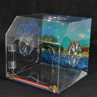 Buy PET Plastic Display Box Customized With Vivid Pictures / Fan Air Vent at wholesale prices