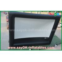 Quality Inflatable air cinema , Outdoor Giant Inflatable Movie Screen for Advertising / Amusement for sale
