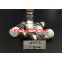 Quality 98% Purity Pharmaceutical Raw Materials Ghrp-6 Growth Hormone Polypeptide Lyophilized Raw Powder for sale