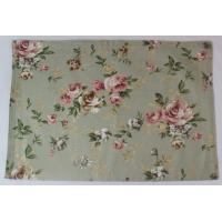 Quality Anti Slip Waterproof 250gsm Canvas Cotton Dining Room Placemats ISO9001 for sale