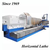 Quality Horizontal Metal Lathe Machine Heavy Duty For Turning 40T Weight for sale