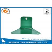 Quality Swing Accessory Steel Reinforced Trapezoidal Plate / Metal Post Connectors for sale