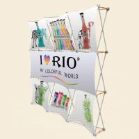 Quality 3x3 Vivi Vertical Pop Up BannerWith Plastic Hanger Strong Square Profile for sale
