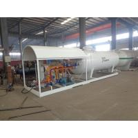 Quality 5 Tons Propane Storage Tanks , Factory Assembly Station Lpg Storage Tank With Scale for sale