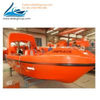 Buy Solas Approved Free Fall Life Boat 21 People and Rescue Boat 6 Persons For Sale at wholesale prices