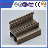 Quality Aluminium windows profiles in china manufacturer,aluminium double sliding windows frame for sale