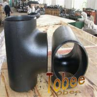 Quality Carbon Steel Wpb A234 Equal Tee  for pipeline for sale
