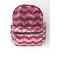 Buy cheap Sequin Polyester Laptop Bag , Sequin School Bag Custom Logo For Travel from wholesalers