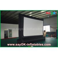 Quality Outdoor Giant  Inflatable Movie Screen Customized for Advertising / Amusement for sale