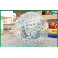 Quality Promotional Inflatable Sports Games Gaint Body Zorb Ball 2.3x1.6m for sale