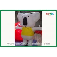 Quality Moving Yellow And White Inflatable Mouse Inflatable Cartoon Characters For Advertising for sale