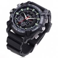 Quality Hidden camera 1080P Waterproof Ir Night Vision Spy Camera Watch DVR - First in the world for sale
