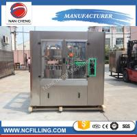 Quality Professional manufacture aluminum round canning bottle filling machine for sale
