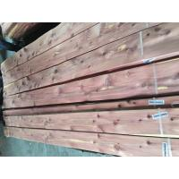 Buy Sliced Natural Aromatic Red Cedar Wood Veneer Sheet at wholesale prices