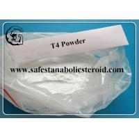 Quality T4 Fat Loss Hormones Levothyroxine Sodium For Burning Fat CAS 25416-65-3 for sale