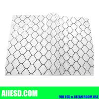 Quality Transaprent 0.5mm thickiness conductive PVC grid sheet for sale