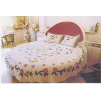 Quality Satin Cotton Hotel Check Bedsheet for sale