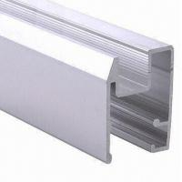 Buy PVDF Painted Black Aluminum Window Extrusion Profiles , Bathroom Aluminum Sliding Windows at wholesale prices