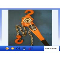 Quality 3 Ton Lever Chain Hoist 1.5M Lift , Construction Tightening Lever Chain Block for sale