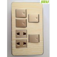 China 10A 250V Electrical Wall Switch Sockets For Control Home Appliance on sale