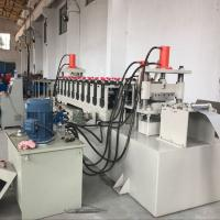 Quality Hot Dipped Galvanized Steel Cable Tray Roll Forming Machine CE / SGS / ISO for sale